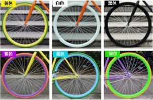 Fixed Gear Color Steel Wheel Rim pictures & photos