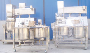 Movable Vacuum Emulsifier Mixer Machine pictures & photos