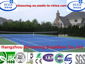 No Odor Triangle Tennis Court Flooring pictures & photos