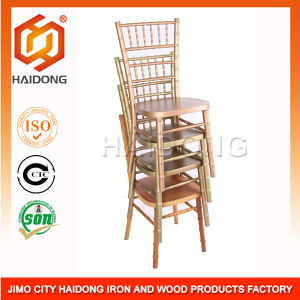 High Quality of Hard Wood Gold Chiavari Chair pictures & photos