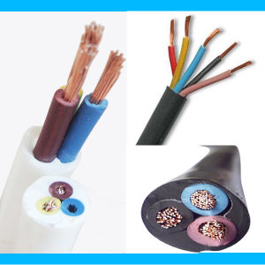 PVC Sheathed Electrical Flexible Cable, 2 3 4 5cores Copper Cable Round Cable pictures & photos