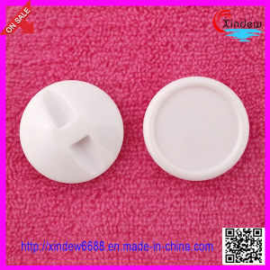 Plastic White Shank Buttons (XDJZ-012) pictures & photos