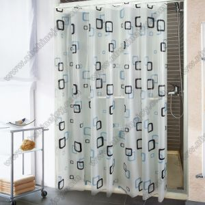 Waterproof Bathroom Shower Curtains pictures & photos