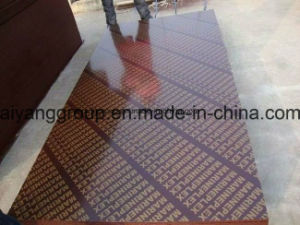 1250mm X 2500mm X18mm Brown Film Faced Plywood for Construction pictures & photos