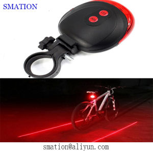 Cheap Safety Laser Kids Back LED Tail Rear Bike Light pictures & photos