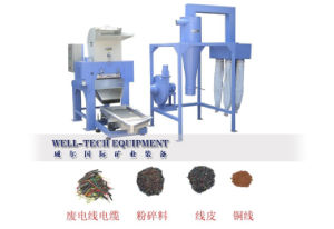 Gd-Dx800 Output 600-800 Kg/Hour Wire Recycling Machine/Enameled Wire Recycling Equipment pictures & photos