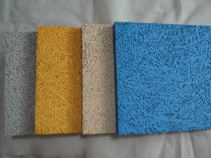 Decorated Wood Fiber Acoustic Panel (YZWF-004)