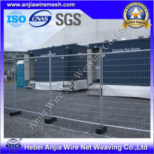 Low Price Electro Galvanized Temporary Fence Using in Railway pictures & photos