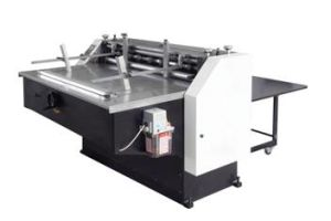 Yz 1300 Semi-Automatic Paper Board Cutting Machine pictures & photos