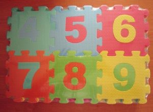 Non-Toxic Letter and Number Mat for Baby Toys with Printed Pictures pictures & photos