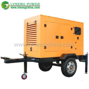 Trailer/Silent Type 200kVA Water Cooled Diesel Generators for Hospital Used pictures & photos