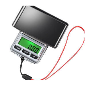 Backlight Jewelry Scale with AAA Battery (XF-DS22) pictures & photos