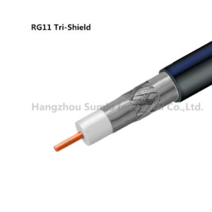 Coaxial Cable Rg11 Tri- Shield pictures & photos