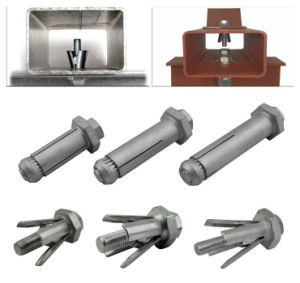 M16 Factory Expansion Anchor Bolt for Rectangular, Square and Even Circular Hollow Sections Length 120mm pictures & photos