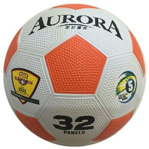 Rubber Colorful Pebble Surface Soccer