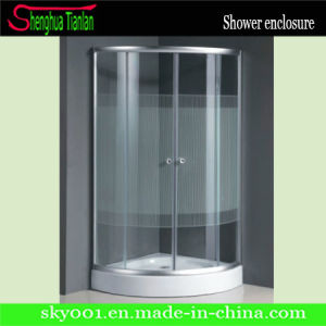 Low Tray Popular Design Curved Glass Shower Module (TL-525) pictures & photos