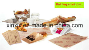 Paper Food Bag Making Machine with 2 Color Printing Machine in Line Food Paper Bag Making Machine pictures & photos