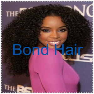 Peruvian Human Hair Kinky Curly Glueless Full Lace Wigs pictures & photos