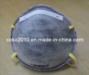 Activated Carbon Filter Protective En149 Disposable Ffp2 Dust Mask pictures & photos