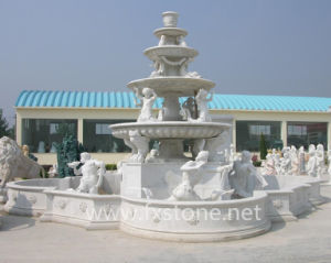 Sculpture Marble Fountain for Garden Decoration pictures & photos