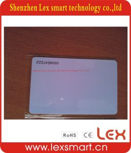 125kHz Low Frequency ISO Cr80 Blank Plastic ID Cards