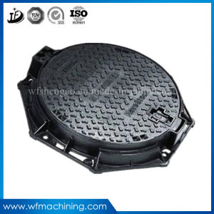 OEM Ductile/Grey Iron Sand Casting Manhole Cover for Sewer Drainage pictures & photos