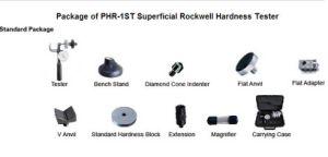 Rockwell Hardness Tester for Hardness Test/Rockwell Sclerometer/Rockwell Durometer/Rockwell Tester/Sclerometer/Durometer/Metal Rockwell pictures & photos
