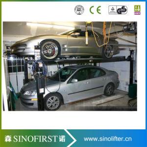 Europe Standard 4 Post Garage Car Storage Lift pictures & photos
