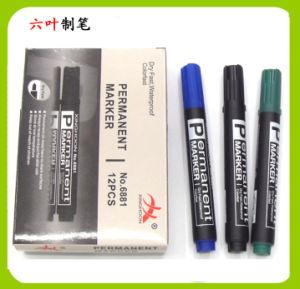 Non-Toxic Permanent Marker Pen (6881) , Oil Pen pictures & photos