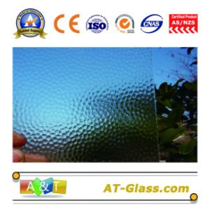 3-8mm Clear Patterned Glass Used for Window pictures & photos