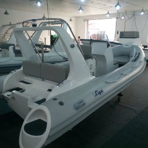 Liya 19ft Luxury Rib Boat Rigid Inflatable Boat with Motor pictures & photos