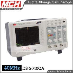 (DS-2040CA) 40MHz Bandwidth Color Display Dual Channel Digital Oscilloscope