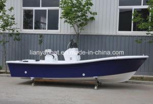 Liya 19ft Fiberglass Fishing Panga Boat for Sale China pictures & photos