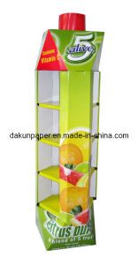 Custom-Designed Cardboard Display Shelving (DKCD091205)