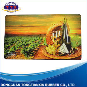 Full Color Printed Comfortable Anti Slip Rubber Door Mat pictures & photos