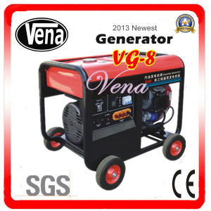 8.5 Kw Portable Gasoline Generator Set pictures & photos
