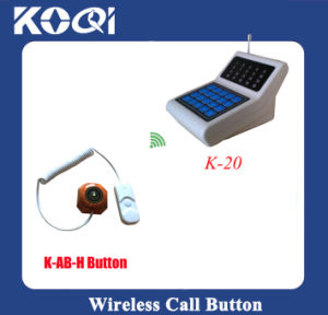 CE Approved 433.92MHz Bed Buzzer Call System for Hospital Clinic pictures & photos