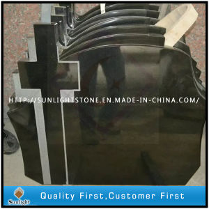 Black Granite Shanxi Black Headstone/Tombstone/Monument pictures & photos