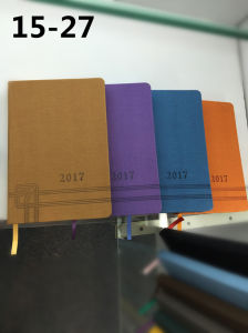 Hot Sale A5 PU Notebook & Hardcover Diary Notebook pictures & photos