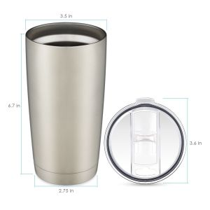 Stainless Steel Tumbler, Double Wall Vacuum Insulated Anti-Splash Lid pictures & photos