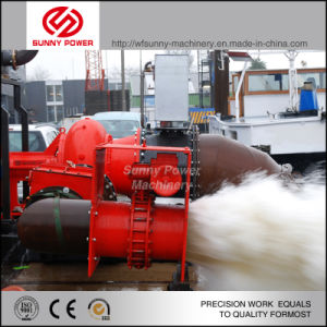 Diesel Slurry Pump for Mining with Max Rigid Granules 76mm pictures & photos