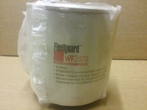 Fleetguard Wf2072 Oil Spin-on Filter for Cummins Engines pictures & photos