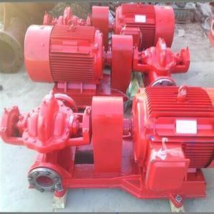Horizontal Double Suction Centrifugal Fire Fighting Water Pump pictures & photos