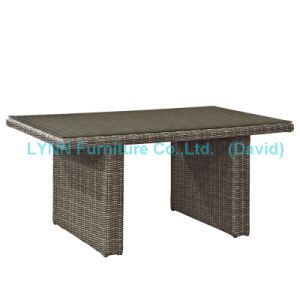 Outdoor Table K. D. Rattan Dining Table pictures & photos