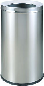 Stainless Steel Dustbin for Lobby and Shopping Mall (YH-49) pictures & photos
