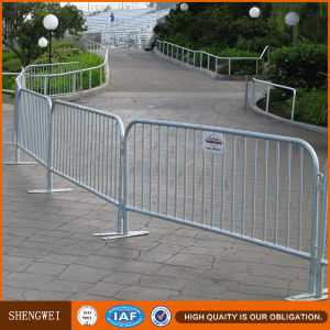 Temporary Cheap Used Safety Concert Metal Construction Crowd Control Barrier pictures & photos