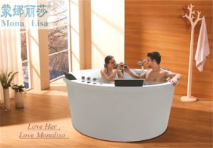 Portable Indoor Sexy Hot Bathtub Romantic Massage Bathtub (M-2057) pictures & photos