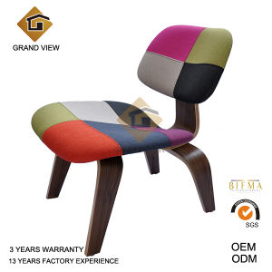 Classical Furniture Molded Plywood Dark Walnut Chair (GV-LCW 007) pictures & photos