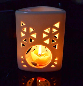 Porcelain Candle Holder (SYT-LZ0033)