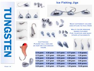 Wholesale Tungsten Fishing Weight Ice Fishing Jig pictures & photos